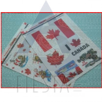 CANADA WINDOW STICKERS ASSORTED