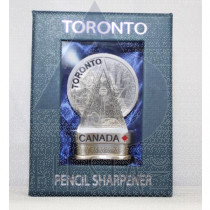 TORONTO PENCIL SHARPENER IN BLUE GIFT BOX