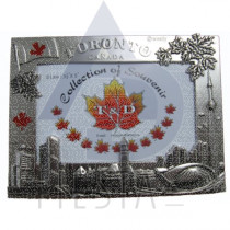 "TORONTO METAL PICTURE FRAME 3.5""X5"""