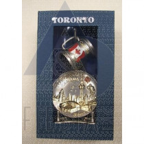 TORONTO 2-TONE MUG & PLATE SET IN BLUE GIFT BOX