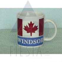 WINDSOR 11 OZ. MUGS WITH FLAG