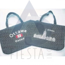 "OTTAWA EMBROIDERED TRAVEL BAG, 2 ASSORTED SIZE 21""X16"" (53X41CM)"