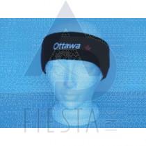 OTTAWA BLACK ACRYLIC HEADBAND