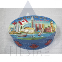 TORONTO POLY OVAL JEWELRY BOX