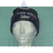 PRINCE EDWARD ISLAND BLACK ACRYLIC TOQUE