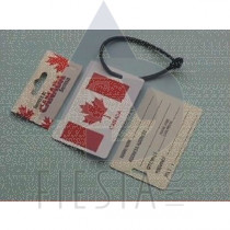 CANADA SMALL LUGGAGE TAG