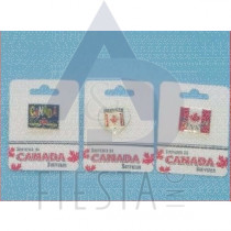 CANADA PINS 3 ASSORTED