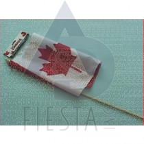 "CANADA FLAG 12""X18"" IN PLASTIC BAG"
