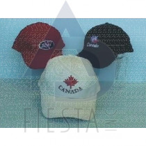 CANADA BRUSHED COTTON CAPS 3 ASSORTED