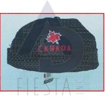 CANADA BLACK BRIMLESS HAT