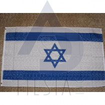 ISRAELI FLAG 3'X5' WITH GROMMETS
