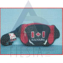 CANADA TRAVEL POUCH BLACK & RED SERIES
