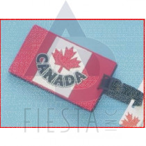 CANADA RUBBERIZED LARGE LUGGAGE TAG