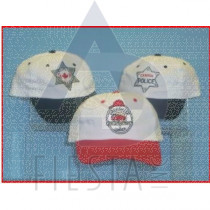 CANADA CHILDREN'S BRUSHED COTTON CAP FIRE/SECURITY/POLICE