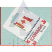 CANADA PIN LARGE FLAG ON POLE