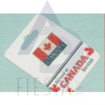 CANADA PIN LARGE RECTANGLE FLAG