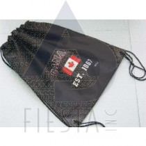CANADA BACK PACK WITH DRAW STRING ASSORTED BLACK/RED