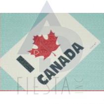 "CANADA POSTCARD ""I LOVE CANADA"""