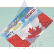 "CANADA POSTCARD ""SOMEONE LOVES ME."""