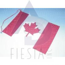 "CANADA PLASTIC WALL HANGING FLAG 20""X28"""
