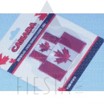 CANADA SEW-ON FLAG PATCHES 2 PACK