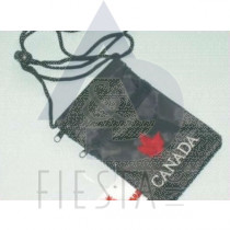 CANADA SECURITY POUCH WITH STRING