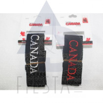 CANADA BLACK LUGGAGE STRAP ASSORTED