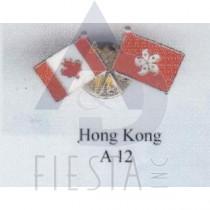 CANADA FRIENDSHIP PIN - HONG KONG