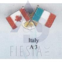 CANADA FRIENDSHIP PIN - ITALY