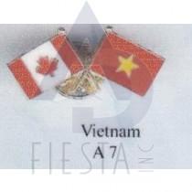 CANADA FRIENDSHIP PIN - VIETNAM