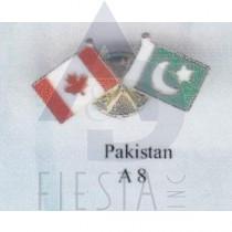 CANADA FRIENDSHIP PIN - PAKISTAN