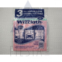 WIZCLOTH ALL PURPOSE CLOTHS 3 PACK
