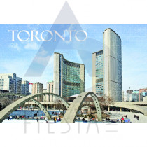 TORONTO POSTCARD TORONTO'S CITY HALL