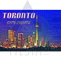TORONTO POSTCARD TORONTO CITY LIGHTS