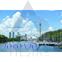 TORONTO POSTCARD VIEW OF TORONTO WATERFRONT