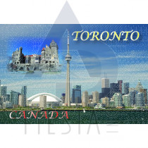 TORONTO POSTCARD TORONTO SKYLINE AND CASA LOMA