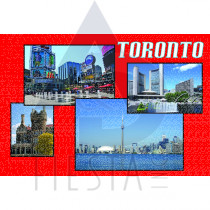 TORONTO POSTCARD TORONTO'S VARIOUS ATTRACTIONS