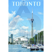 TORONTO POSTCARD DOWNTOWN TORONTO WATERFRONT