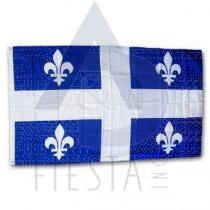 QUEBEC FLAG 3X5'